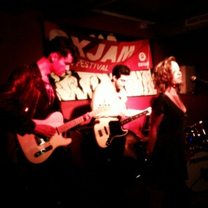 Courtly Love bringing glamour and rock star cool to the Oxjam Shoreditch Takeover, 2014