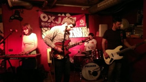 Violet Woods perform at The Strongroom Bar at the Oxjam Shoreditch Takeover 2014
