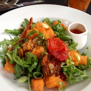 Vegan starter at The Grazing Goat, Marylebone - why is this salad not on the menu?!