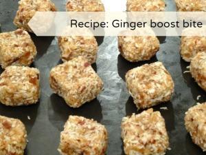 ginger boost bites