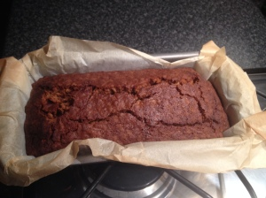 and Voila, the finished product! Delicious Vegan Parkin
