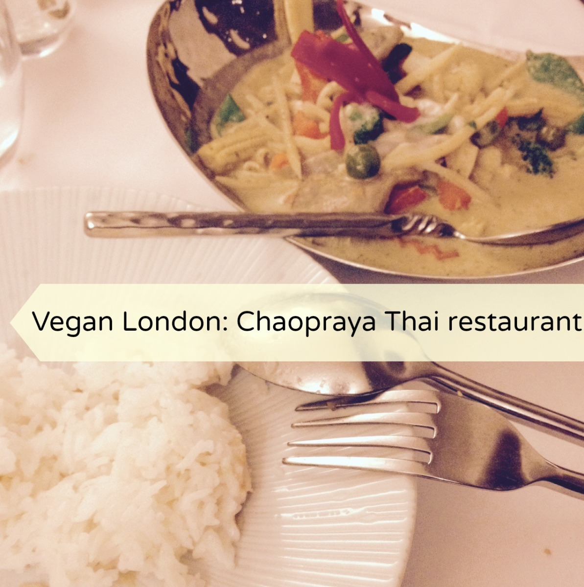 Vegan London: Chaopraya Eat Thai