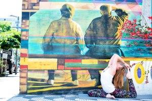 Once upon a time I was a yoga teacher, São Paulo 2012. Photographer rights go to the wonderful Jana Davis Pearl