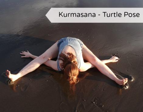 Kurmasana - turle pose