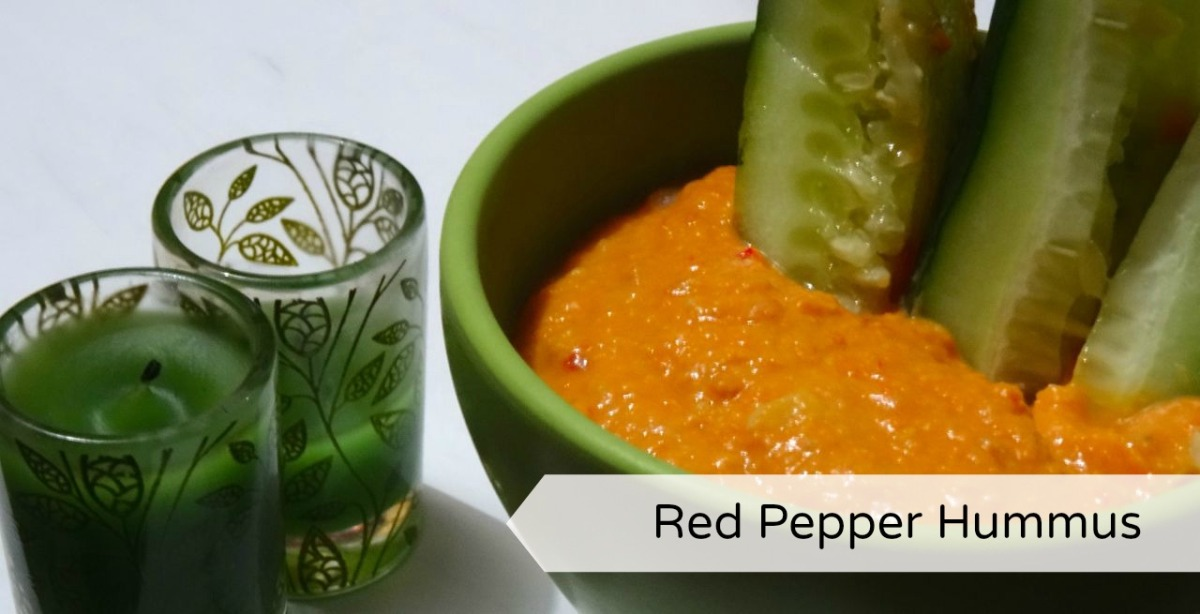 Recipe red pepper hummus ramblings of a wild strawberry for Recipe red pepper hummus