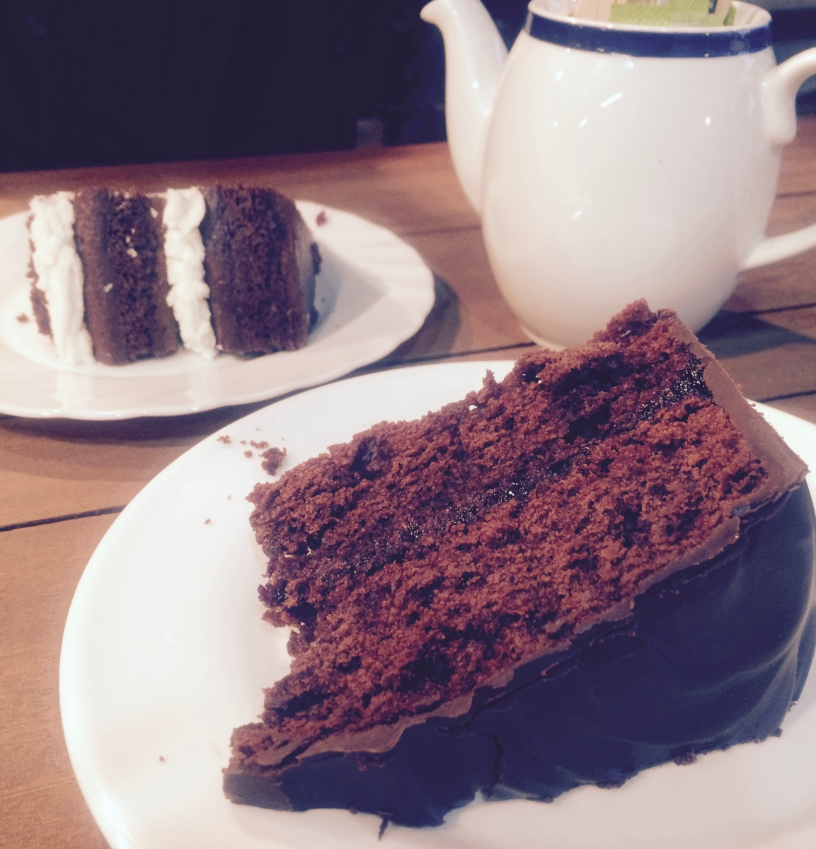 Vegan London: Oasis Cafe at Harvest E8